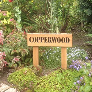 House sign called copperwood