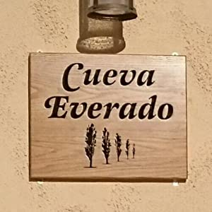 Spanish cave house sign Cueva Everado