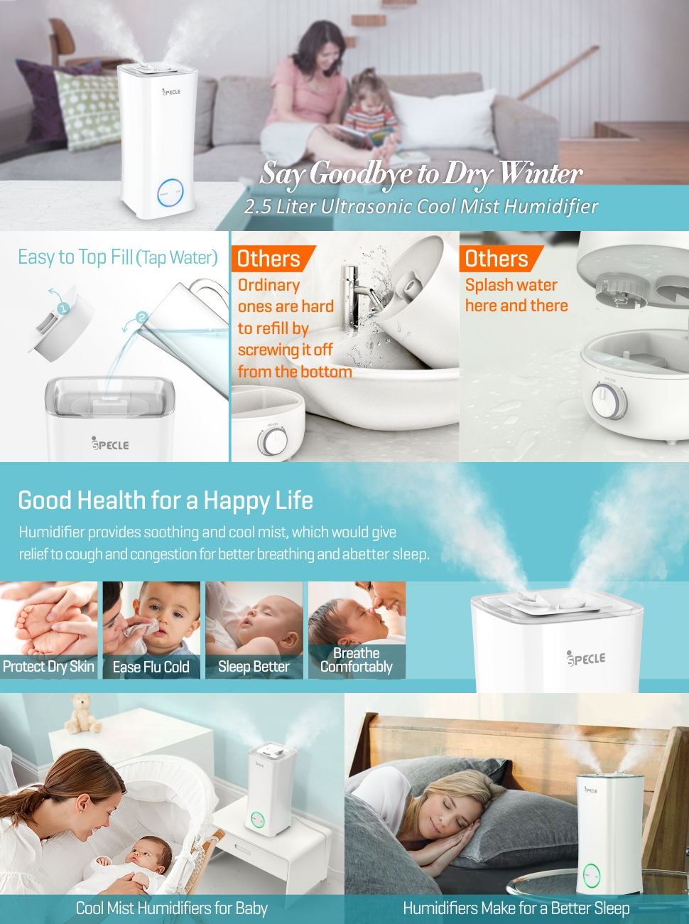 5 health benefits of humidifiers | TriStar Health