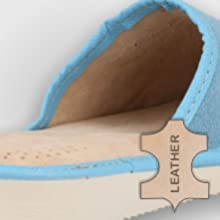 Women's slippers Leather lining