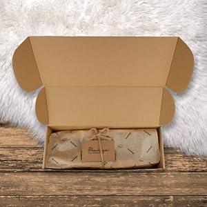 unboxing men's slippers