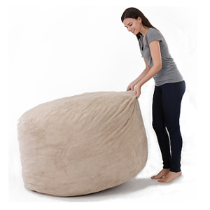 e9e702a712 The Biggest beanbag in Europe - Gigantic Bean Bag Chair in Black ...