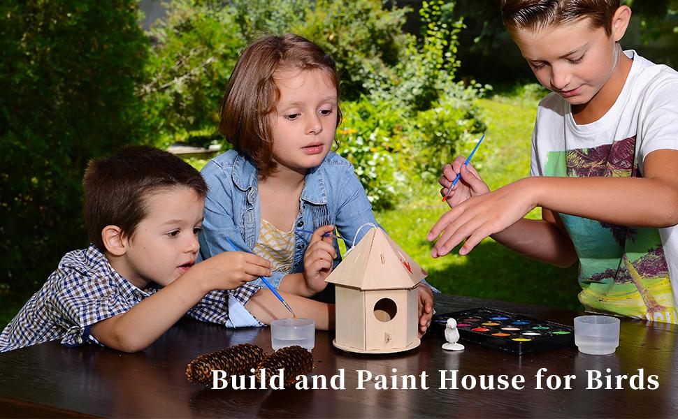 Wondrous Robotime 3D Wooden Jigsaw Puzzle Bird House Child Educational Woodcraft Puzzle Toy Diy Kit Birdhouse2 Download Free Architecture Designs Scobabritishbridgeorg