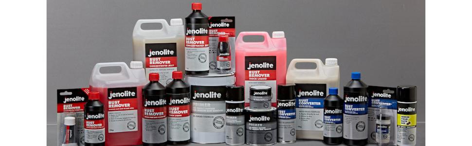 Jenolite 83385 Rust Remover, Thick Liquid Rust Treatment - 150g