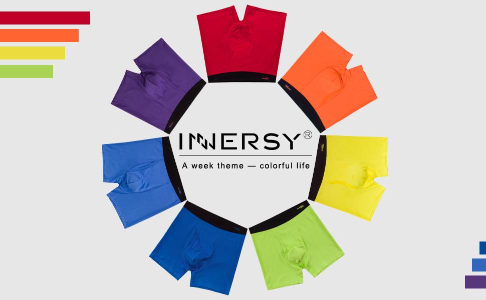 7 color boxer shorts