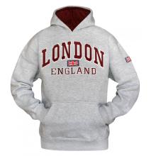 16sixty Souvenir Hoody Men/'s I Love London Fleece Pullover Hoodie Sweatshirt Top