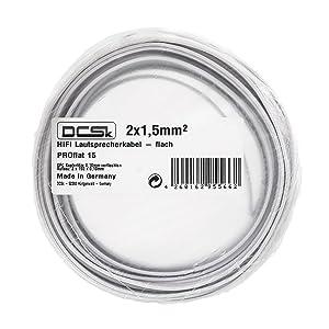 -- 10  Meter 10 Meter  Profi PA Speaker Kabel Lautsprecherkabel 2 x 2,5qmm