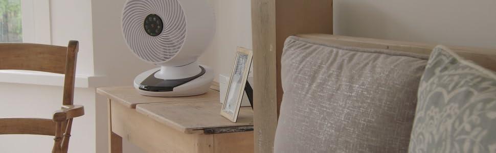 Image of Meaco Fan in bedroom