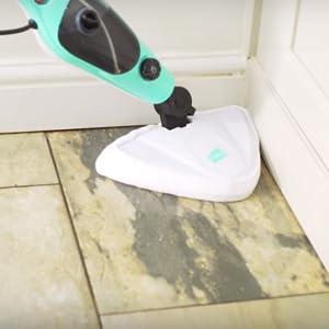 Neo Hot Steam Mop Cleaner Floor Carpet Window Washer Hand Steamer Blue Amazon