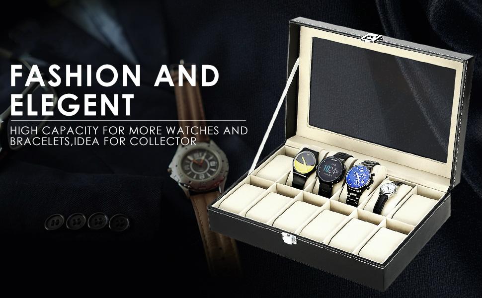 watch organizer box