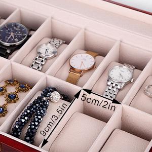 watch case watch travel case mens jewellery box watch organiser