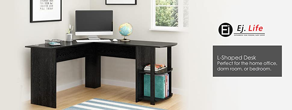 L Shaped Desks Home Office For The Perfect Shaped Desk Ej Life Lshaped Office Computer Desk Large Corner Pc Table With