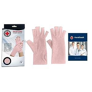compression gloves, hand support, finger support, finger compression, raynaud's