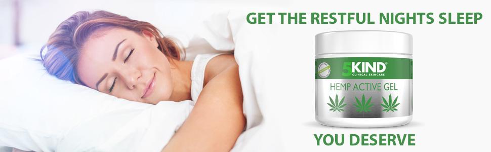 5kind hemp active gel massage oil