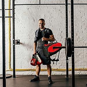 Gym kit duffel kit bags