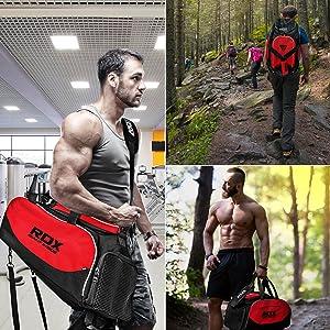 Gym hiking running duffel bag