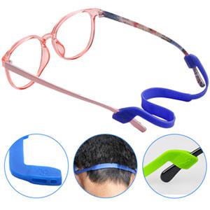 9ef1f208c57 SENHAI 6 Pack Anti-slip Silicone Glasses Straps with 6 Pairs Ear ...