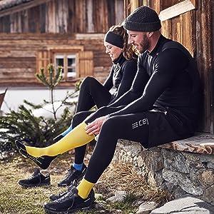 winter run socks