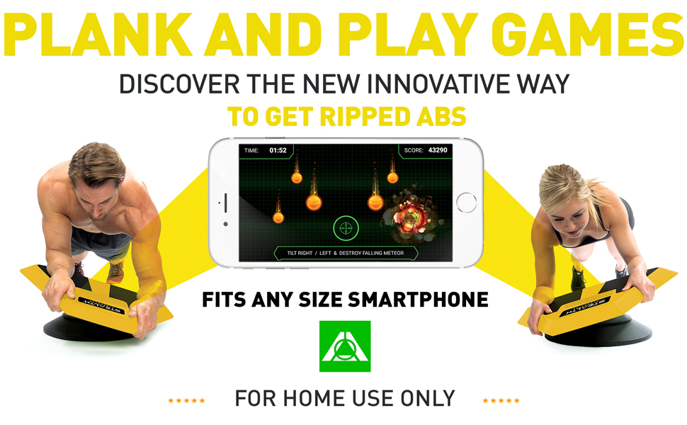Plankster Plank and Play Games AB Workout
