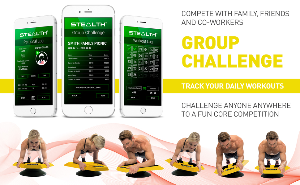 Group Challenge Ab Workout