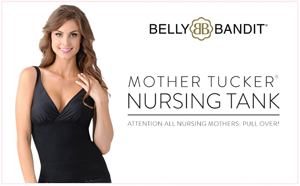 8a3e28701cc Belly Bandit Women s Mother Tucker Nursing Tank - Discreet ...