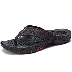 45d86a5ca7863b Mens Flip Flops Sport Thong Sandals Comfort for Outdoor Beach