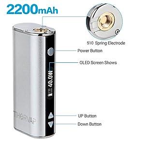 vape mod battery