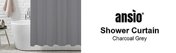 charcoal grey curtain