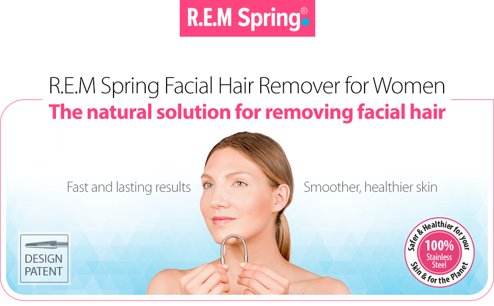 Downy facial hair memory