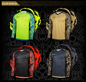 b9c520360b4 ... Clothing Men Soccer Jersey Kids Football Goalkeeper Training  Doorkeepers Long Sleeve For Children. It was founded back in 1977, and its  long course ...