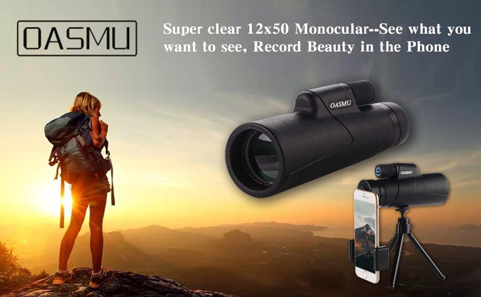 Monocular telescope high powered bak prism amazon