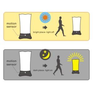 Zeefo Table Lamps Wireless Pir Motion Sensor Led Night