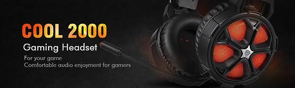 cool 2000 gaming headset