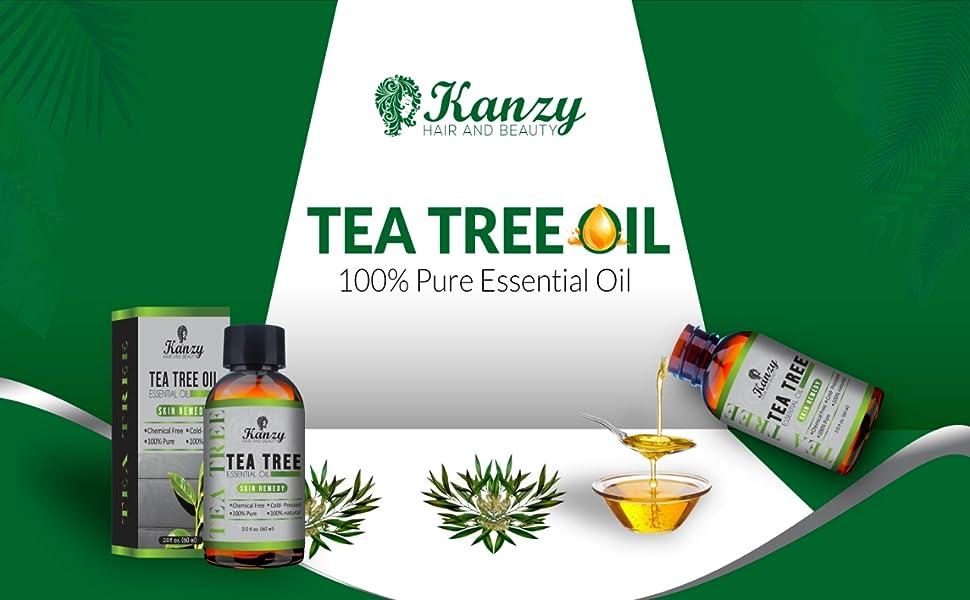 Essential Tea Tree oil for face body skin hair Australia