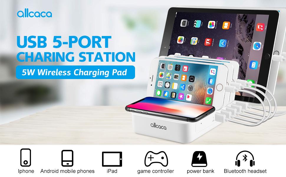 docking station iphone dock usb charging station  usb multi charger ps4 charging station