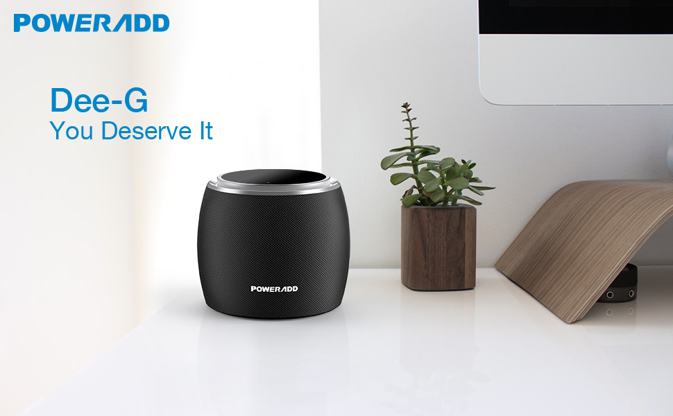 360˚ Bass Sound Wireless Speaker Powerful 36W with 4 Driver Outdoor Party Poweradd Dee-G Bluetooth Speaker Travel for Home