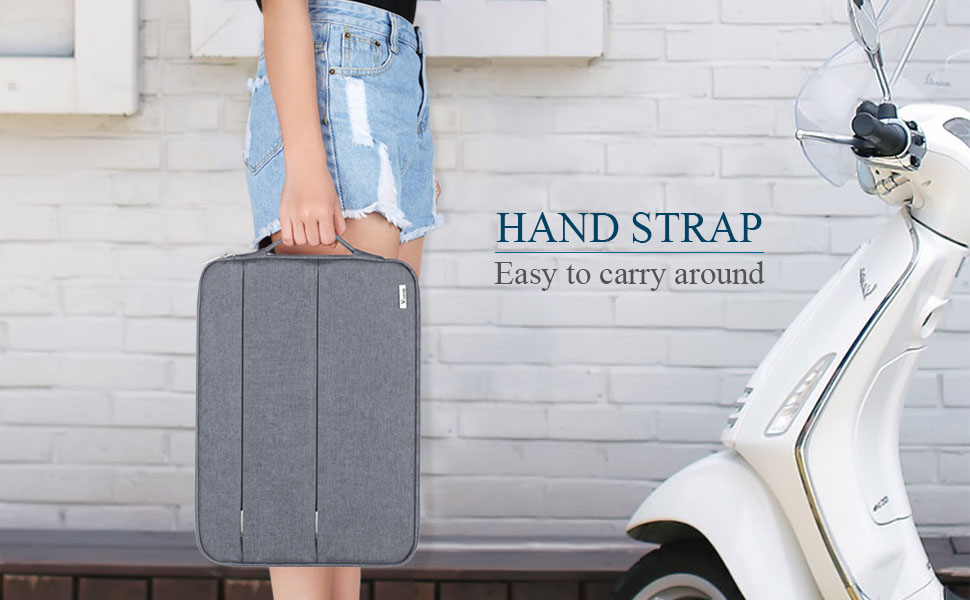 portable laptop sleeve case with handle
