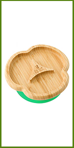 bamboo divider plate