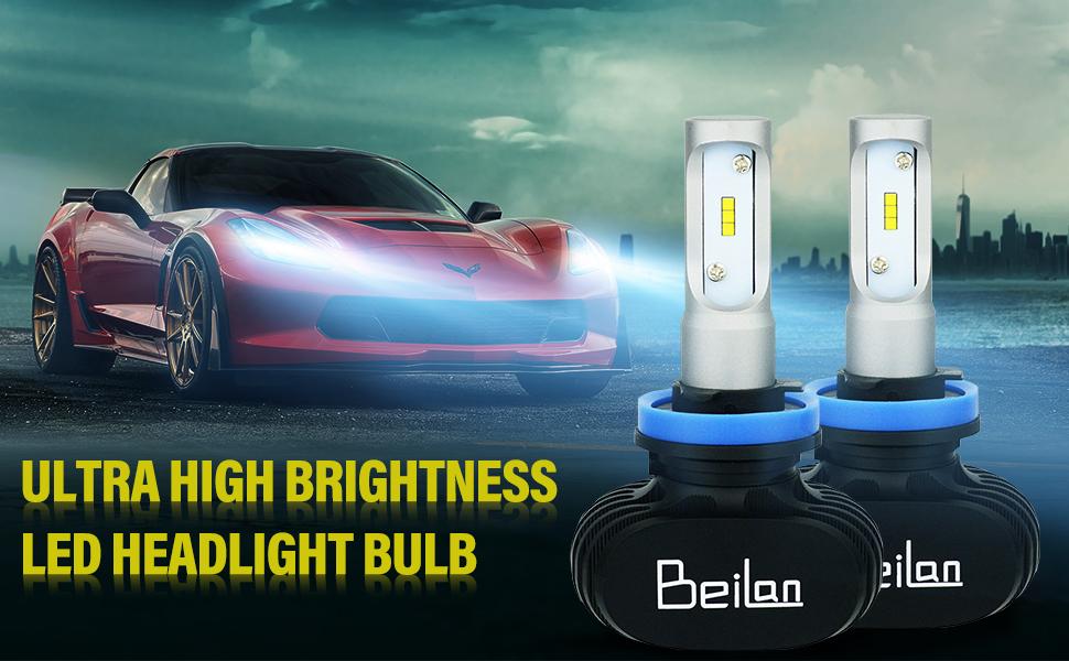 Mitsubishi L200 Blue LED /'Trade/' Wide Angle Side Light Beam Bulbs Pair Upgrade