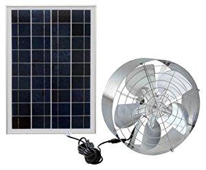 Eco Worthy Solar Power Attic Gable Fan With 65 Watt 18