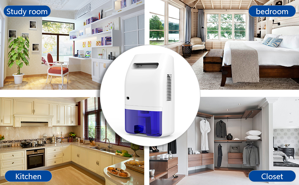 Hysure Portable Dehumidifier For Home 2000ml Powerful Electric Dehumidifier For Bedroom Air