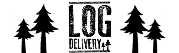 Log Delivery, Delivering Kiln Dried Hardwood Logs, Silver Birch, Ash, Oak, Olive Nets of Firewood