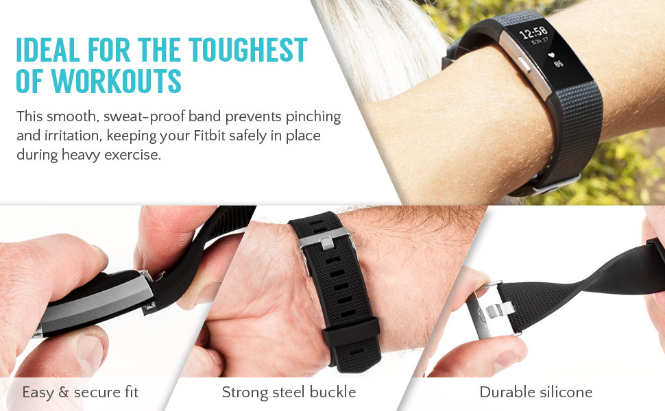 fitbit charge 2 wrist strap