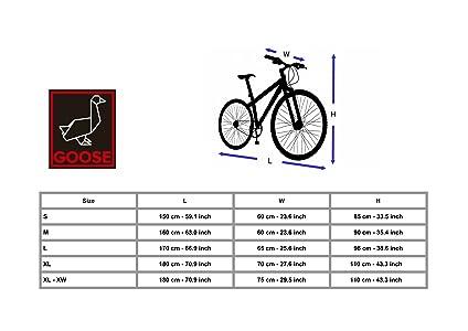 Goose Bicycle Cover Premium Grade Lockable Bike Cover