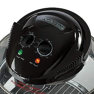 DAEWOO Deluxe ALOGENO FRIGGITRICE ARIA 1.7L 1300W con timer e self clean