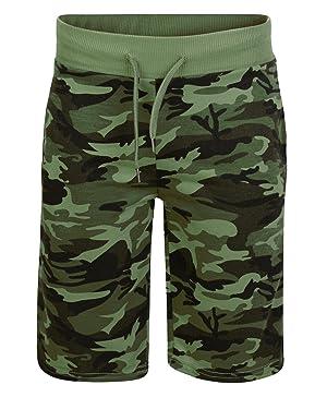 LOTMART Kids Casual Summer Shorts Boys Jersey Bottoms Elasticated Waist