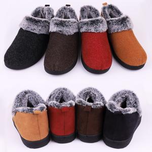 2d98e6ac5 VeraCosy Ladies' Wool-Like Fleece Clog Slippers, Comfort Memory Foam ...