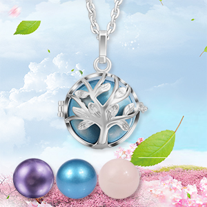chime ball locket