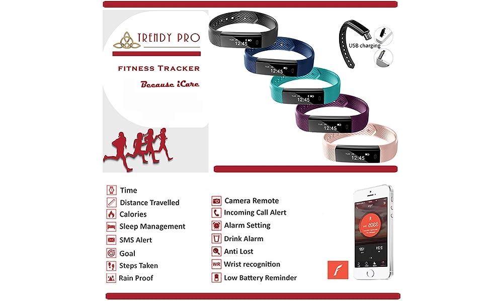Fitness Tracker Activity Tracker Kids