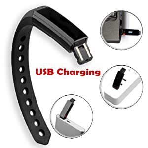 TRENDY PRO Fitness Tracker USB Charging